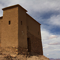 Africa, Morocco, Ourazazate. Ait Ben Haddou granary.