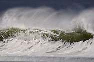 Storm swell from tropical storm Wilma passing by offshore.