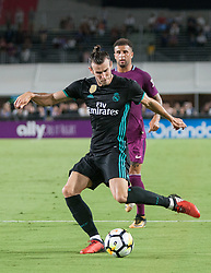 July 26, 2017 - Los Angeles, California, U.S - Gareth Bale #11 of Real Madrid during their International Champions Cup game with Manchester City at the Los Angeles Memorial Coliseum in Los Angeles, California on Wednesday July 26, 2017. Manchester City defeats Real Madrid, 4-1. (Credit Image: © Prensa Internacional via ZUMA Wire)