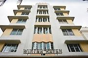 The Winter Haven beachfront boutique hotel on Ocean Drive, South Beach, Miami, USA