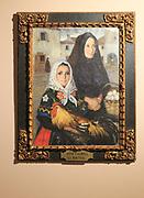 'La Huevera' painting by Juan Caldera Rebolledo (1897-1946) in the the museum, Caceres, Extremadura, Spain
