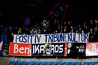 Fotball<br /> Tippeligaen<br /> Ullevål Stadion 10.11.13<br /> Vålerenga VIF - Sandnes Ulf<br /> Ultras Banner ikaros tribune tribunekultur<br /> <br /> Foto: Eirik Førde