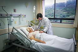 Unidade de internação do Hospital Divina Providência, em Porto Alegre. Foto: Jefferson Bernardes/ Agência Preview