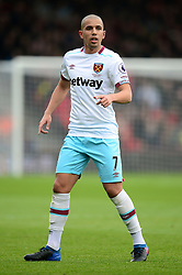 Sofiane Feghouli of West Ham United - Mandatory by-line: Alex James/JMP - 11/03/2017 - FOOTBALL - Vitality Stadium - Bournemouth, England - Bournemouth v West Ham United - Premier League