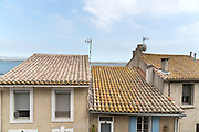 houses on the coast near Narbonne France