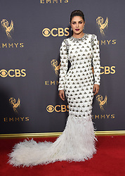 September 17, 2017 Los Angeles, CA Liev Schreiber 69th Emmy Awards - Arrivals held at the Microsoft Theatre L.A. Live © OConnor-Arroyo / AFF-USA.com. 17 Sep 2017 Pictured: Priyanka Chopra. Photo credit: MEGA TheMegaAgency.com +1 888 505 6342