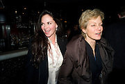 CAROLE CAPLIN; JENNY SEAGROVE,  Press night of 'Sunset Boulevard' after-party Meza on Wardour St. London. December 15, 2008. *** Local Caption *** -DO NOT ARCHIVE-© Copyright Photograph by Dafydd Jones. 248 Clapham Rd. London SW9 0PZ. Tel 0207 820 0771. www.dafjones.com.<br /> CAROLE CAPLIN; JENNY SEAGROVE,  Press night of 'Sunset Boulevard' after-party Meza on Wardour St. London. December 15, 2008.