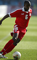 Fotball<br /> African Nations Cup 2004<br /> Afrika mesterskapet 2004<br /> Foto: Digitalsport<br /> NORWAY ONLY<br /> <br /> FIRST ROUND - GROUP A - 040201 <br /> TUNISIA v GUINEA <br /> HATEM TRABELSI (TUN)  *** Local Caption *** 40001027