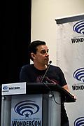Justin T. Bowler at Wondercon in Anaheim Ca. March 31, 2019