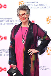 Prue Leith attending the Virgin Media BAFTA TV awards, held at the Royal Festival Hall in London. Photo credit should read: Doug Peters/EMPICS