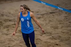 08-01-2017 NED: NK Beachvolleybal Indoor, Aalsmeer<br /> Laura Bloem #1