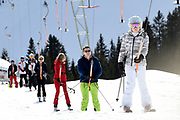 Fotosessie met de koninklijke familie in Lech /// Photoshoot with the Dutch royal family in Lech .<br /> <br /> Op de foto/ On the photo: prinses Ariane