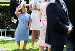 Ellie Simmonds during day two of Royal Ascot at Ascot Racecourse.