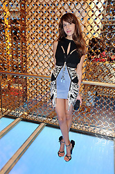 CAROLINE SIEBER at a party to celebrate the opening of the Louis Vuitton Bond Street Maison, New Bond Street, London on 25th May 2010.