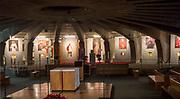 Panteon Wielkich Polaków w świątyni Opatrzności Bożej w Warszawie, Polska<br /> Pantheon of Great Poles in the Temple of Divine Providence, Warsaw, Poland