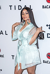 Cardi B attends TIDAL X: Brooklyn at Barclays Center of Brooklyn on October 17, 2017 in New York City. (Photo by Joe Russo / imageSPACE).
