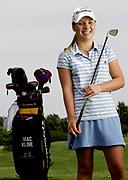 Young Golfer portrait