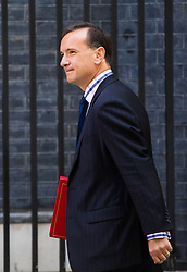 London, July 4th 2017. Welsh Secretary Alun Cairns attends the weekly cabinet meeting at 10 Downing Street in London.
