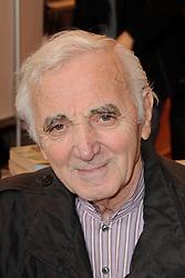 Charles Aznavour attending the Paris Book Fair 'Le Salon Du Livre' held at the Parc des Expositions, Porte de Versailles in Paris, France on March 27, 2010. Photo by Briquet-Gorassini/ABACAPRESS.COM