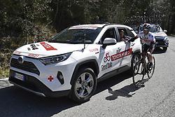 March 15, 2019 - Pomarance, Italia, Italia - Foto LaPresse/Fabio Ferrari .15/03/2019 Pomarance (Italia) .Sport Ciclismo.Tirreno-Adriatico 2019 - edizione 54 - da Pomarance a Foligno  (226 km) .Nella foto:durante la gara..Photo LaPresse/Fabio Ferrari .March 15, 2018 Pomarance (Italy).Sport Cycling.Tirreno-Adriatico 2019 - edition 54 - Pomarance to Foligno (140 miglia) .In the pic:during the race. (Credit Image: © Fabio Ferrari/Lapresse via ZUMA Press)