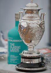 Sailing - SCOTLAND  - 28th May 2018<br /> <br /> Final days racing the Scottish Series 2018, organised by the  Clyde Cruising Club, with racing on Loch Fyne from 25th-28th May 2018<br /> <br /> The Scottish Series Trophy, Prizegiving<br /> <br /> Credit : Marc Turner<br /> <br /> Event is supported by Helly Hansen, Luddon, Silvers Marine, Tunnocks, Hempel and Argyll & Bute Council along with Bowmore, The Botanist and The Botanist