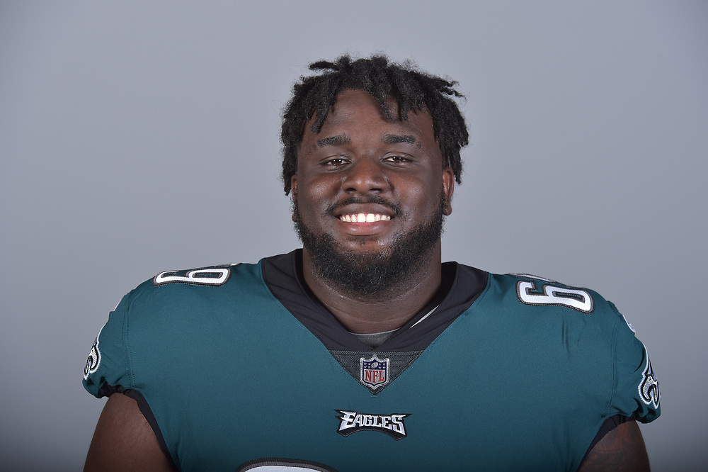 This is a 2017 photo of Dillon Gordon of the Philadelphia Eagles NFL football team. This image reflects the active roster as of Wednesday, May 24, 2017 when this image was taken. (AP Photo)