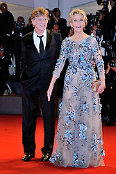 Robert Redford and Jane Fonda attending the Our Souls at Night premiere during the 74th Venice International Film Festival (Mostra di Venezia) at the Lido, Venice, Italy on September 01, 2017. Photo by Aurore Marechal/ABACAPRESS.COM