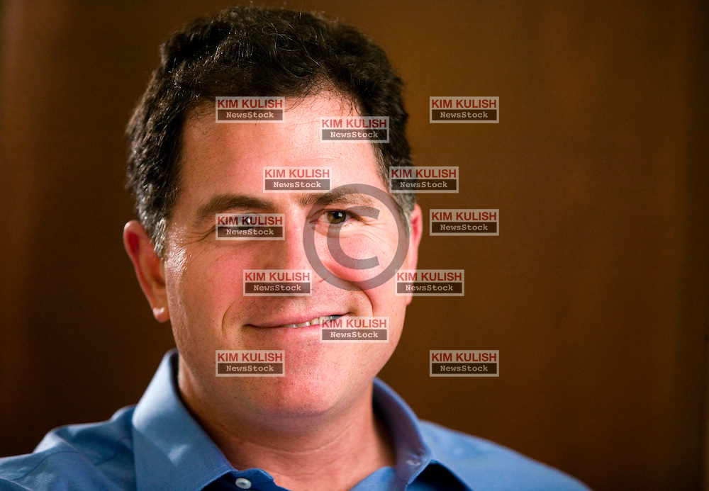 Portrait of Michael Dell, CEO of Dell Computer iin Round Rock, Texas.  Photo By Kim Kulish