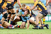 Carlo Tizzano. NSW Waratahs v ACT Brumbies. 2021 Super Rugby AU Round 7 Match. Played at Sydney Cricket Ground on Friday 2 April 2021. Photo Clay Cross / photosport.nz