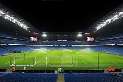 A general view of the Etihad Stadium - Mandatory byline: Matt McNulty/JMP - 01/12/2015 - Football - Etihad Stadium - Manchester, England - Manchester City v Hull City - Capital One Cup - Quarter-final