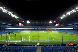 A general view of the Etihad Stadium - Mandatory byline: Matt McNulty/JMP - 01/12/2015 - Football - Etihad Stadium - Manchester, England - Manchester City v Hull City - Capital One Cup - Quarter-final