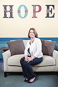 Priscilla McIntosh, CEO at the Morton Center, for M.D. Update magazine Monday, April 20, 2015 in Louisville, Ky. (Photo by Brian Bohannon)