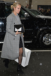 February 20, 2019 - New York, NY, USA - February 20, 2019 New York City..Misha Nonoo arrives to Meghan Markle's baby shower on February 20, 2019 in New York City. (Credit Image: © Kristin Callahan/Ace Pictures via ZUMA Press)