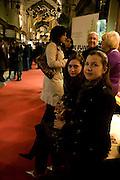 JELENA ROZENKAO; JEKATERINA VASSILJEVA, Patsy Kensit turns on Burlington Arcade Christmas Lights, Burlington Arcade, London, W1. 26 November 2008 *** Local Caption *** -DO NOT ARCHIVE -Copyright Photograph by Dafydd Jones. 248 Clapham Rd. London SW9 0PZ. Tel 0207 820 0771. www.dafjones.com