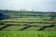 France, Normandy.  La Hague Nuclear Power Station.