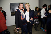 ALEXANDER MCQUEEN; SAM TAYLOR WOOD, Yes 1 No. Sam Taylor Wood. White Cube. Mason's Yard. London. 23 October 2008 *** Local Caption *** -DO NOT ARCHIVE -Copyright Photograph by Dafydd Jones. 248 Clapham Rd. London SW9 0PZ. Tel 0207 820 0771. www.dafjones.com