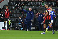 Football - 2020 / 2021 Sky Bet Championship - AFC Bournemouth vs. Cardiff City - The Vitality Stadium<br /> <br /> Cardiff City Manager Mick McCarthy gives some instructions to his team during the Championship match at the Vitality Stadium (Dean Court) Bournemouth <br /> <br /> COLORSPORT/SHAUN BOGGUST