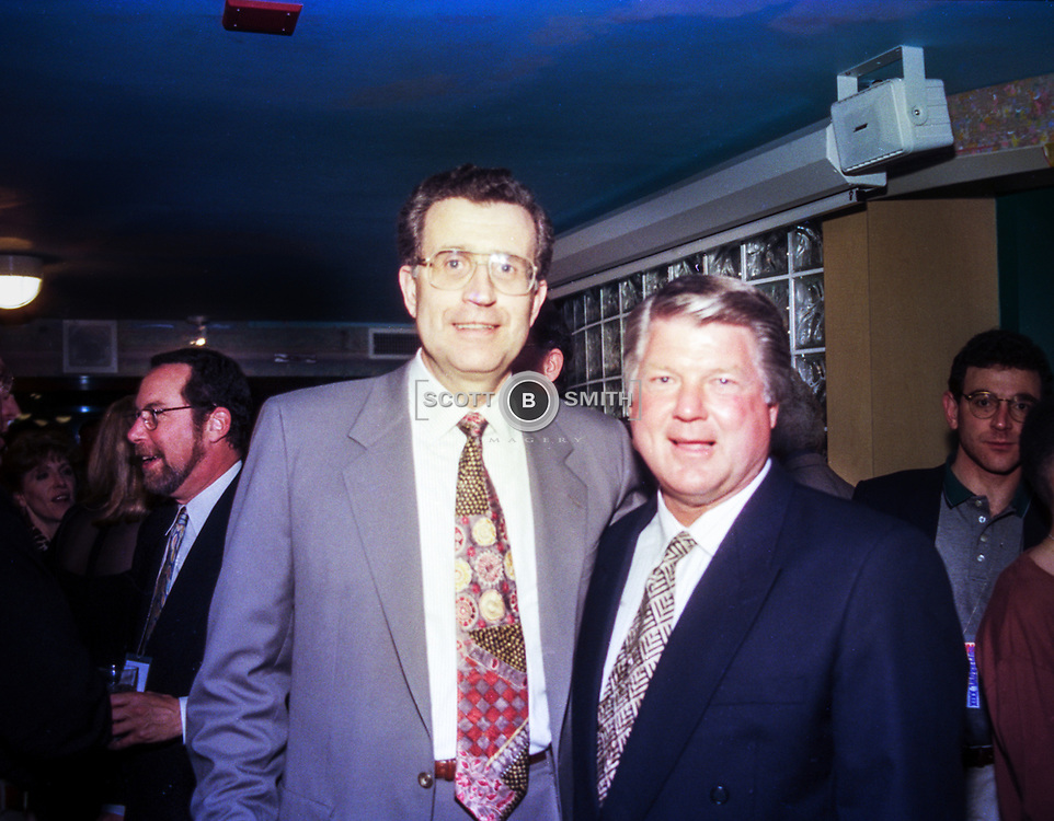 NFL Commissioner Paul Tagliabue and Coach Jimmy Johnson-1995