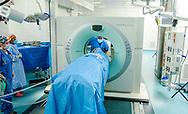 Siemens Somaton Sensation CT Scanner in operation at Mass General Hospital