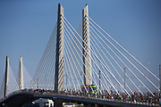Trimet opened the new Portland-Milwaukie MAX Orange line on Sept. 12, 2015. With the opening of the line came the first official use of the new Tilikum Crossing, Bridge of the People. Randy L. Rasmussen/Staff
