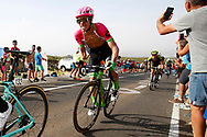Rigoberto Uran (COL - EF Education First - Drapac) , during the UCI World Tour, Tour of Spain (Vuelta) 2018, Stage 9, Talavera de la Reina - La Covatilla 200,8 km in Spain, on September 3rd, 2018 - Photo Luca Bettini / BettiniPhoto / ProSportsImages / DPPI