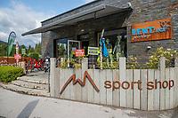 WESTENDORF -   Tirol   Oostenrijk,  - proshop, golfshop, ,  Golfanlage Kitzbuheler Alpen Westendorf.    COPYRIGHT KOEN SUYK