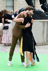 James Norton and Florence Pugh attending the Royal Academy of Arts Summer Exhibition Preview Party held at Burlington House, London.