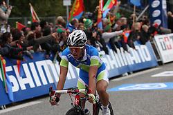 Jan Polanc during the Men´s Under 23 Road Race on day five of the UCI Road World Championships on September 23, 2011 in Copenhagen, Denmark. (Photo by Marjan Kelner / Sportida Photo Agency)