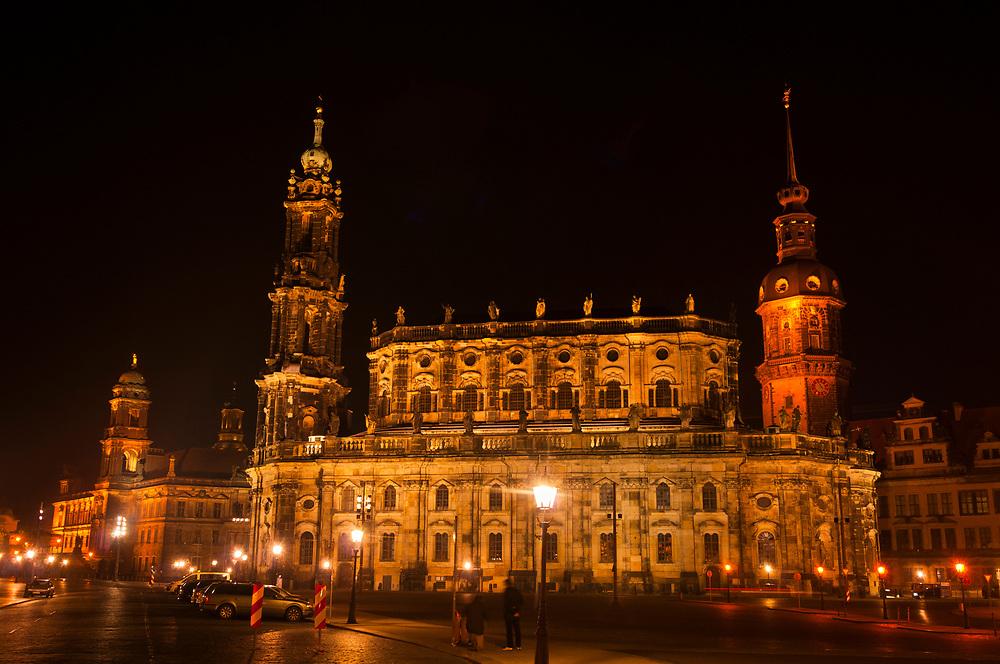 Hofkirche, Dresden, Saxony, Germany