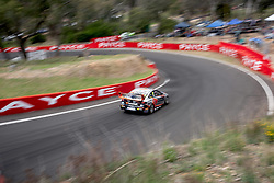 October 7, 2018 - Bathurst, NSW, U.S. - BATHURST, NSW - OCTOBER 07: Scott Pye / Warren Luff in the Mobil 1 Boost Mobile Racing Holden Commodore down through Forest Elbow at the Supercheap Auto Bathurst 1000 V8 Supercar Race at Mount Panorama Circuit in Bathurst, Australia. (Photo by Speed Media/Icon Sportswire) (Credit Image: © Speed Media/Icon SMI via ZUMA Press)