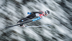 31.01.2016, Casino Arena, Seefeld, AUT, FIS Weltcup Nordische Kombination, Seefeld Triple, Skisprung, Wertungssprung, im Bild Magnus Krog (NOR) // Magnus Krog of Norway competes during his Competition Jump of Skijumping of the FIS Nordic Combined World Cup Seefeld Triple at the Casino Arena in Seefeld, Austria on 2016/01/31. EXPA Pictures © 2016, PhotoCredit: EXPA/ JFK
