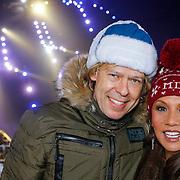 DUI/Hinterzarten/20130212 - Opname Vliegende Hollanders 2013 - Sterren van de Schans, Patty Brard en partner Antoine van den Vijver