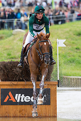 Joseph Murphy, (IRL), Electric Cruise - Eventing Cross Country test - Alltech FEI World Equestrian Games™ 2014 - Normandy, France.<br /> © Hippo Foto Team - Leanjo de Koster<br /> 30/08/14