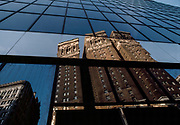 Midtown Glass, New York City, New York, USA, March 1985